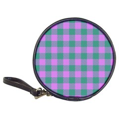 Plaid Pattern Classic 20 Cd Wallets by ValentinaDesign