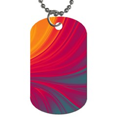 Colors Dog Tag (two Sides) by ValentinaDesign