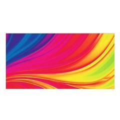 Colors Satin Shawl by ValentinaDesign