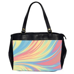 Colors Office Handbags (2 Sides)  by ValentinaDesign