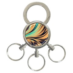 Colors 3 Ring Key Chains by ValentinaDesign
