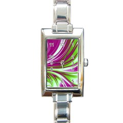 Colors Rectangle Italian Charm Watch