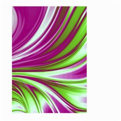 Colors Large Garden Flag (two Sides) by ValentinaDesign
