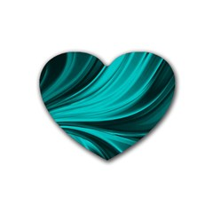Colors Heart Coaster (4 Pack)  by ValentinaDesign