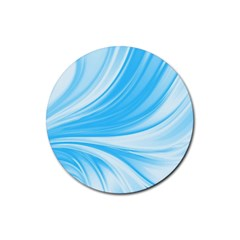 Colors Rubber Round Coaster (4 Pack)  by ValentinaDesign