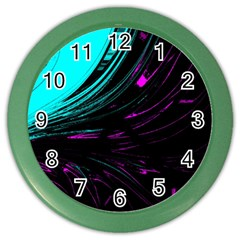 Colors Color Wall Clocks by ValentinaDesign