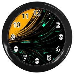 Colors Wall Clocks (black) by ValentinaDesign