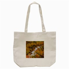 Colored Forest Landscape Scene, Patagonia   Argentina Tote Bag (cream) by dflcprints