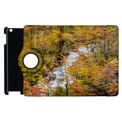 Colored Forest Landscape Scene, Patagonia   Argentina Apple Ipad 2 Flip 360 Case by dflcprints