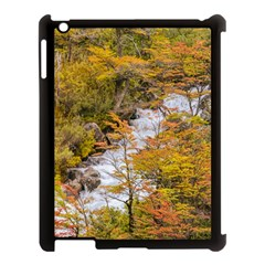 Colored Forest Landscape Scene, Patagonia   Argentina Apple Ipad 3/4 Case (black) by dflcprints