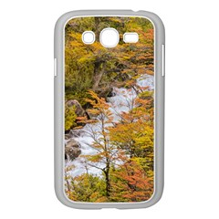 Colored Forest Landscape Scene, Patagonia   Argentina Samsung Galaxy Grand Duos I9082 Case (white) by dflcprints
