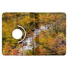 Colored Forest Landscape Scene, Patagonia   Argentina Kindle Fire Hdx Flip 360 Case by dflcprints
