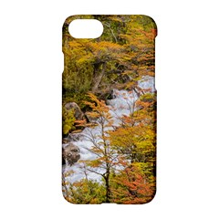 Colored Forest Landscape Scene, Patagonia   Argentina Apple Iphone 7 Hardshell Case by dflcprints