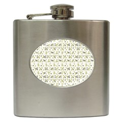 Abstract Shapes Pattern Hip Flask (6 Oz) by dflcprints