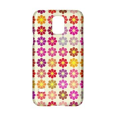 Multicolored Floral Pattern Samsung Galaxy S5 Hardshell Case  by linceazul