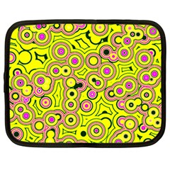 Bubble Fun 17d Netbook Case (large) by MoreColorsinLife