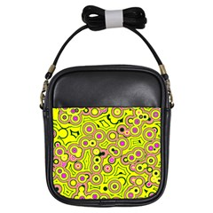 Bubble Fun 17d Girls Sling Bags by MoreColorsinLife