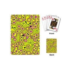 Bubble Fun 17d Playing Cards (mini)  by MoreColorsinLife