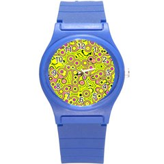 Bubble Fun 17d Round Plastic Sport Watch (s) by MoreColorsinLife