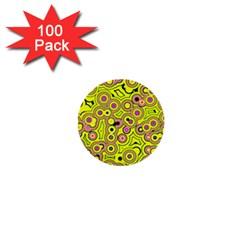 Bubble Fun 17d 1  Mini Buttons (100 Pack)  by MoreColorsinLife