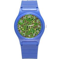 Bubble Fun 17c Round Plastic Sport Watch (s) by MoreColorsinLife