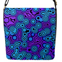 Bubble Fun 17f Flap Messenger Bag (s) by MoreColorsinLife