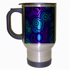 Bubble Fun 17f Travel Mug (silver Gray) by MoreColorsinLife