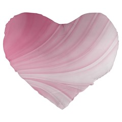 Colors Large 19  Premium Heart Shape Cushions by ValentinaDesign