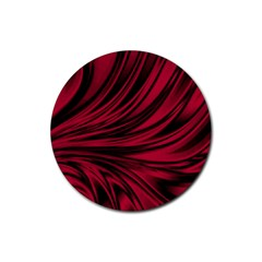 Colors Rubber Coaster (round)  by ValentinaDesign