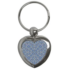 Geometric Luxury Ornate Key Chains (heart)  by dflcprints
