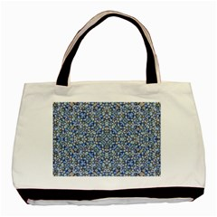 Geometric Luxury Ornate Basic Tote Bag by dflcprints