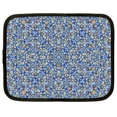 Geometric Luxury Ornate Netbook Case (large) by dflcprints