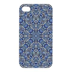 Geometric Luxury Ornate Apple Iphone 4/4s Premium Hardshell Case by dflcprints