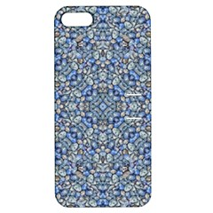 Geometric Luxury Ornate Apple Iphone 5 Hardshell Case With Stand by dflcprints