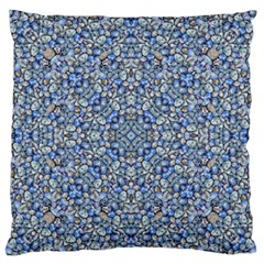 Geometric Luxury Ornate Large Flano Cushion Case (one Side) by dflcprints