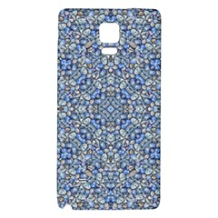 Geometric Luxury Ornate Galaxy Note 4 Back Case by dflcprints