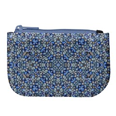 Geometric Luxury Ornate Large Coin Purse by dflcprints