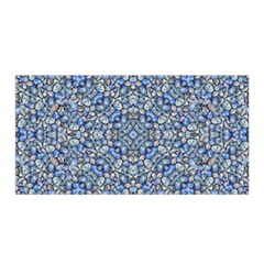 Geometric Luxury Ornate Satin Wrap by dflcprintsclothing