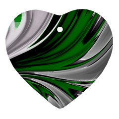 Colors Heart Ornament (two Sides) by ValentinaDesign