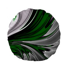 Colors Standard 15  Premium Flano Round Cushions by ValentinaDesign