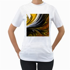 Colors Women s T Shirt (white) (two Sided) by ValentinaDesign