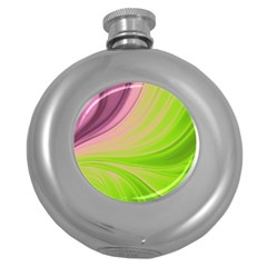 Colors Round Hip Flask (5 Oz) by ValentinaDesign