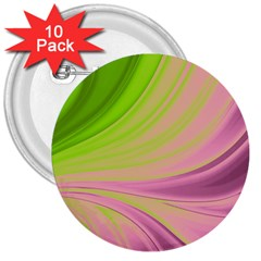 Colors 3  Buttons (10 Pack)  by ValentinaDesign