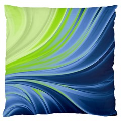 Colors Large Flano Cushion Case (two Sides) by ValentinaDesign
