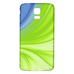 Colors Samsung Galaxy S5 Back Case (white) by ValentinaDesign