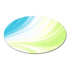 Colors Oval Magnet by ValentinaDesign