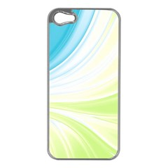 Colors Apple Iphone 5 Case (silver) by ValentinaDesign