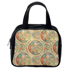 Complex Geometric Pattern Classic Handbags (one Side) by linceazul