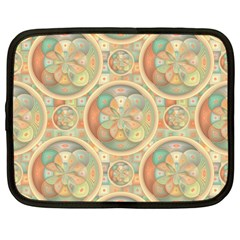 Complex Geometric Pattern Netbook Case (xxl)  by linceazul