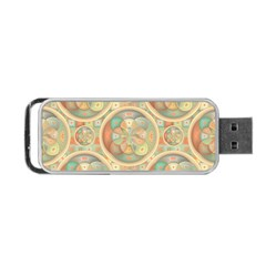 Complex Geometric Pattern Portable Usb Flash (two Sides) by linceazul